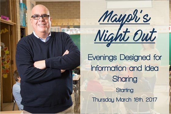 Mayor's Night Out Starting Thursday March 16th 2017