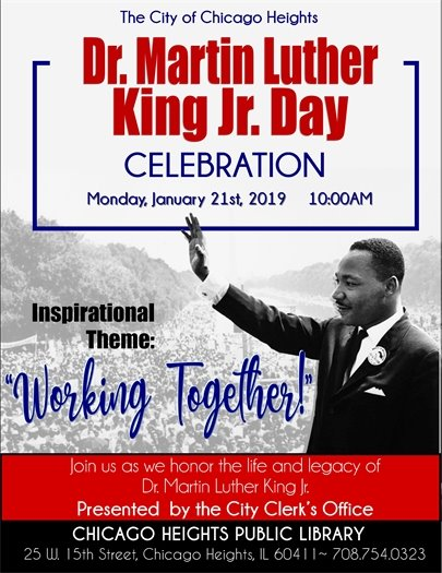 Dr. Martin Luther King Jr Day Celebration