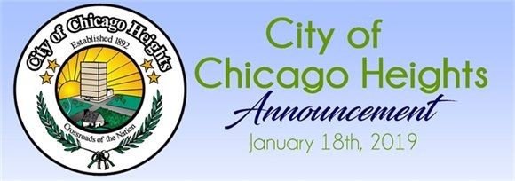 City of Chicago Heights Announcement