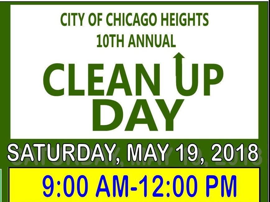 2018 Clean Up Day Poster narrow