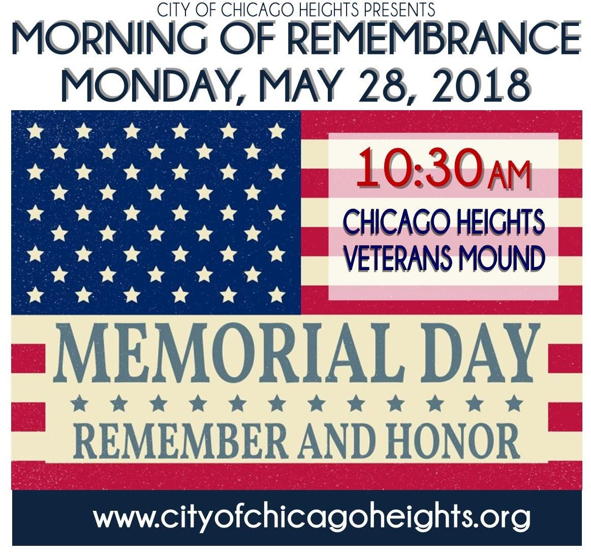 Memorial Day Flyer  Square