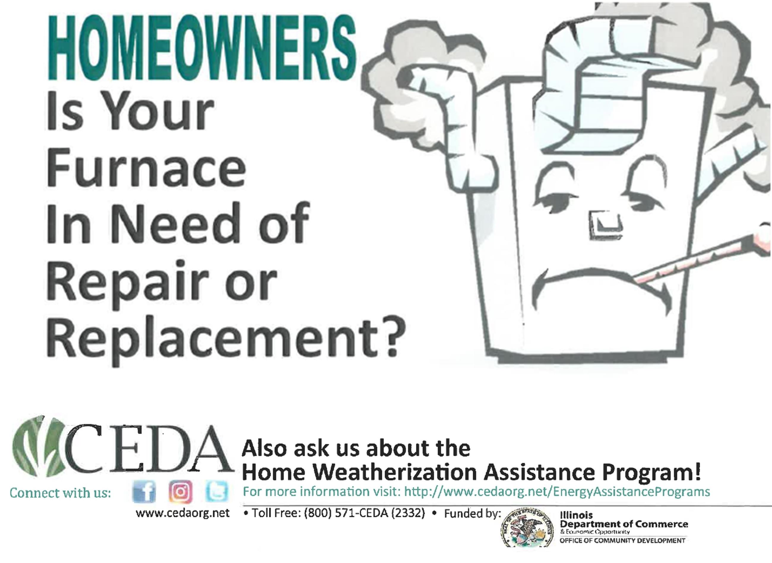 CEDA furnace assistance program