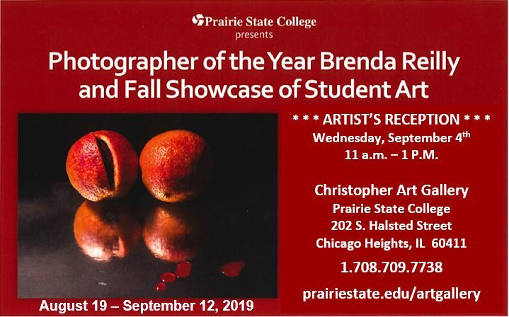 Prairie State Photo Exhibit August 19th - September 12th 2019