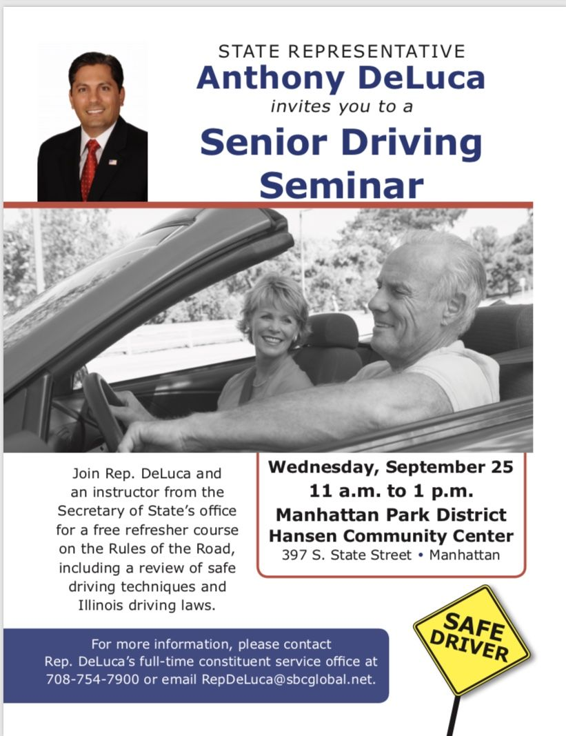 Flyer - Event - Senior Driving Seminar