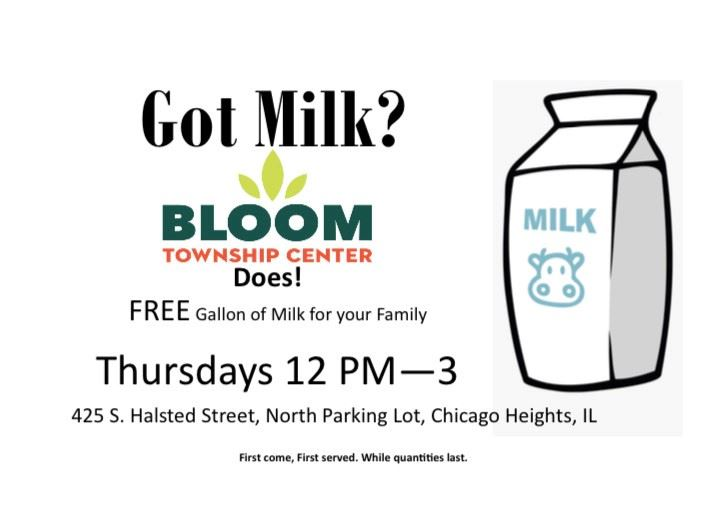 Bloom Township Milk Program