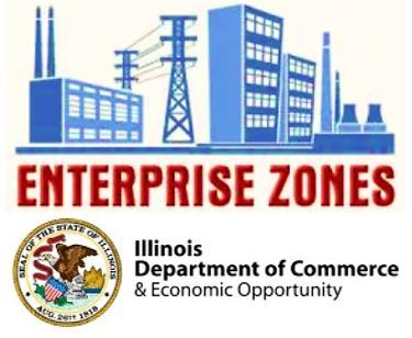 IL DCEO Enterprise Zones Logo Clipart