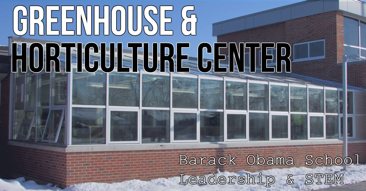 Barack Obama greenhouse and horticulture center