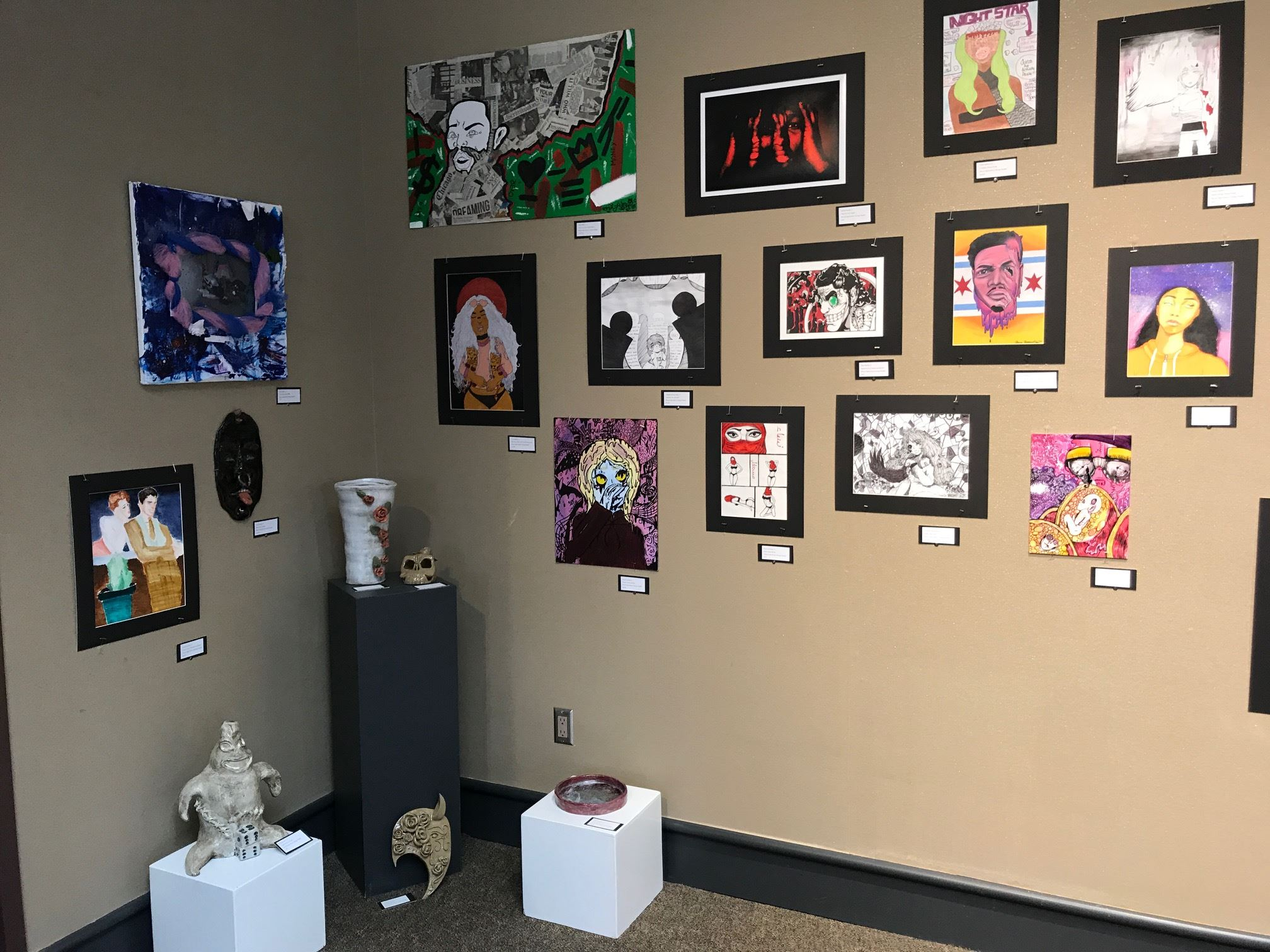 Bloom High School Artist Exhibit at South Shore Arts