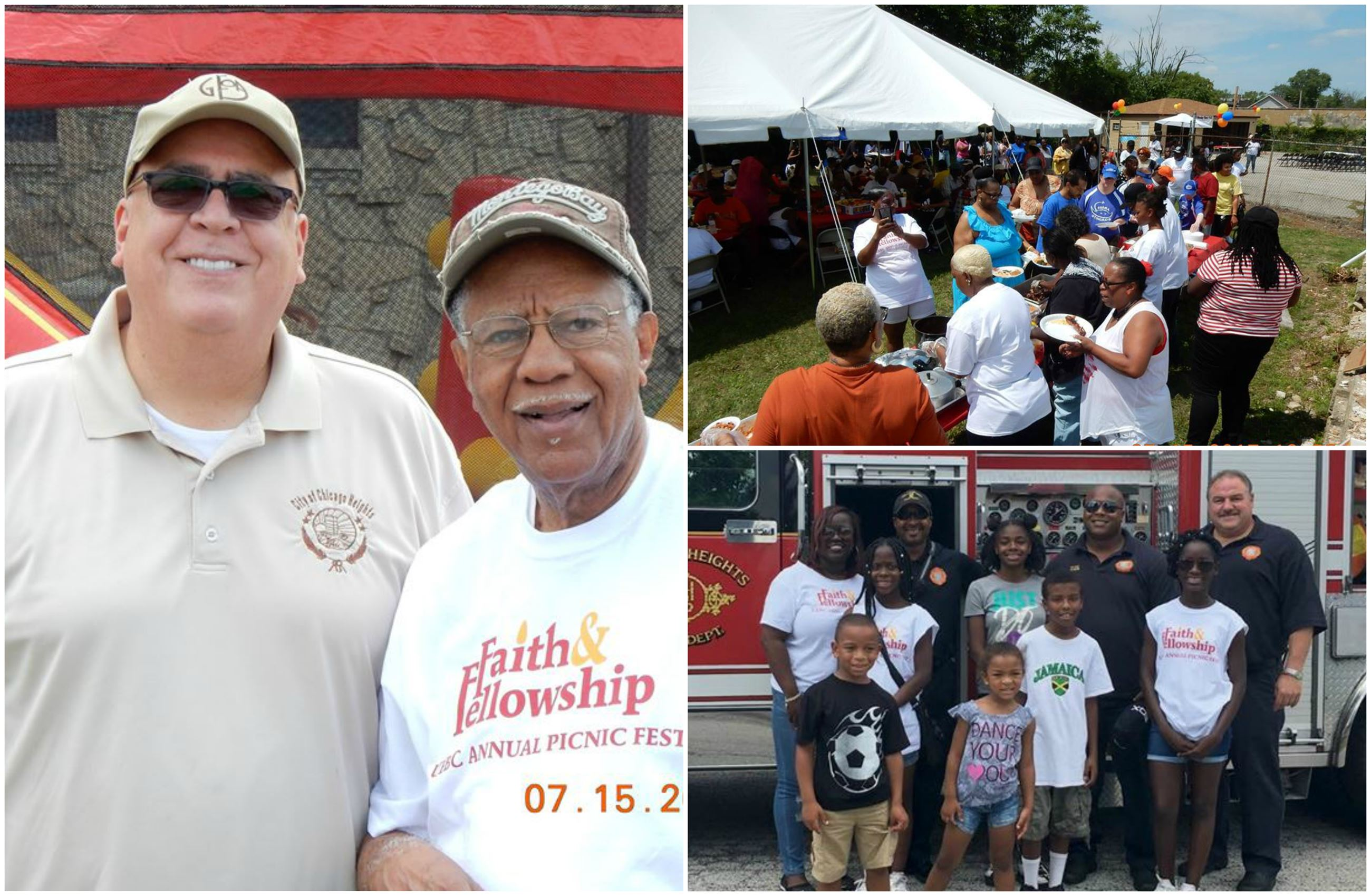 It was a beautiful day for the UEBC&#39s 1st Faith & Fellowship BLOCKFEST on July 15th!  In addition