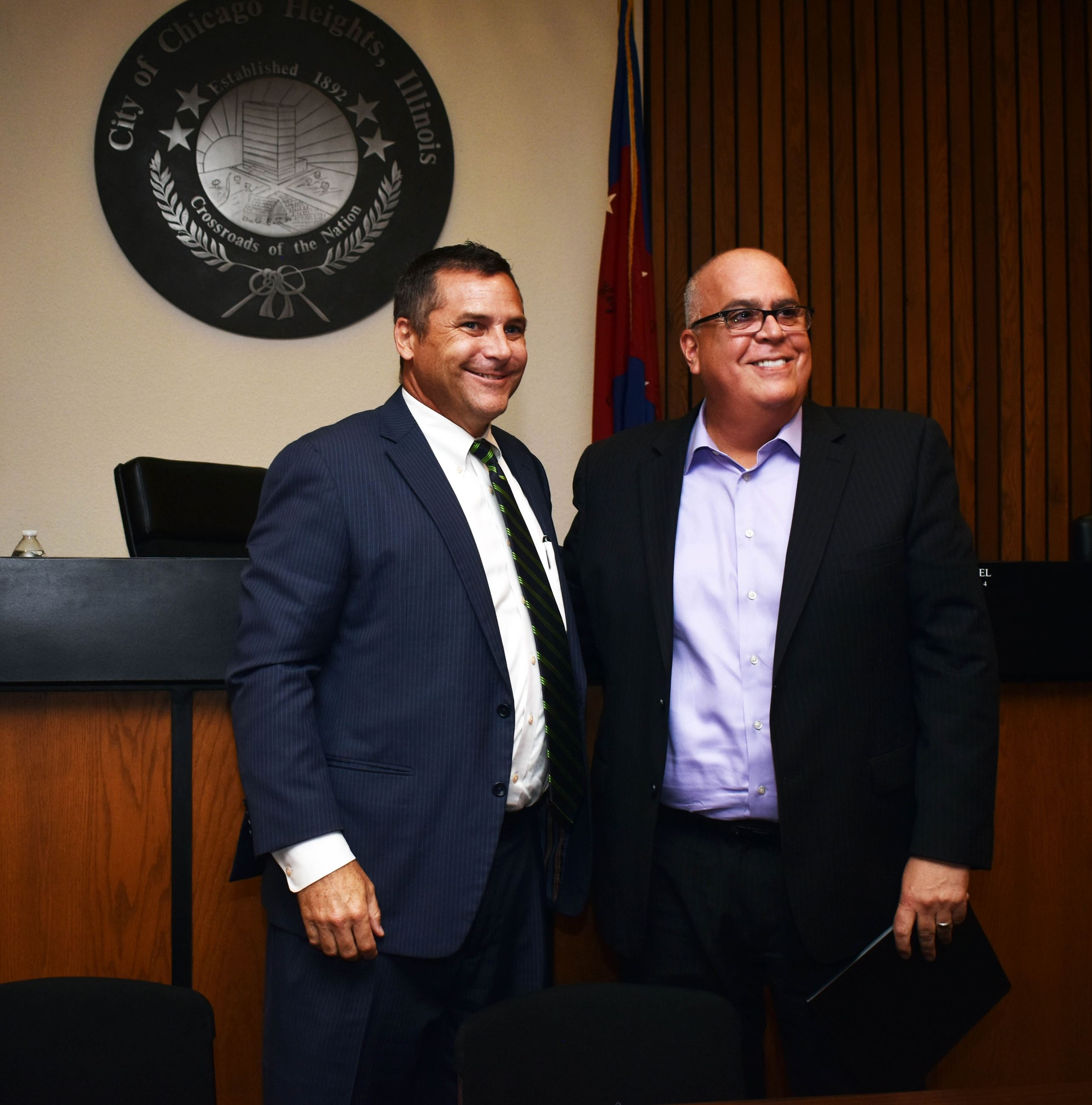 Mayor Gonzalez and Mayor McDermott