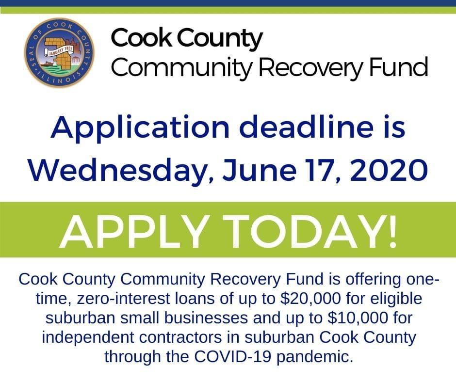 Cook County Community Recovery Fund