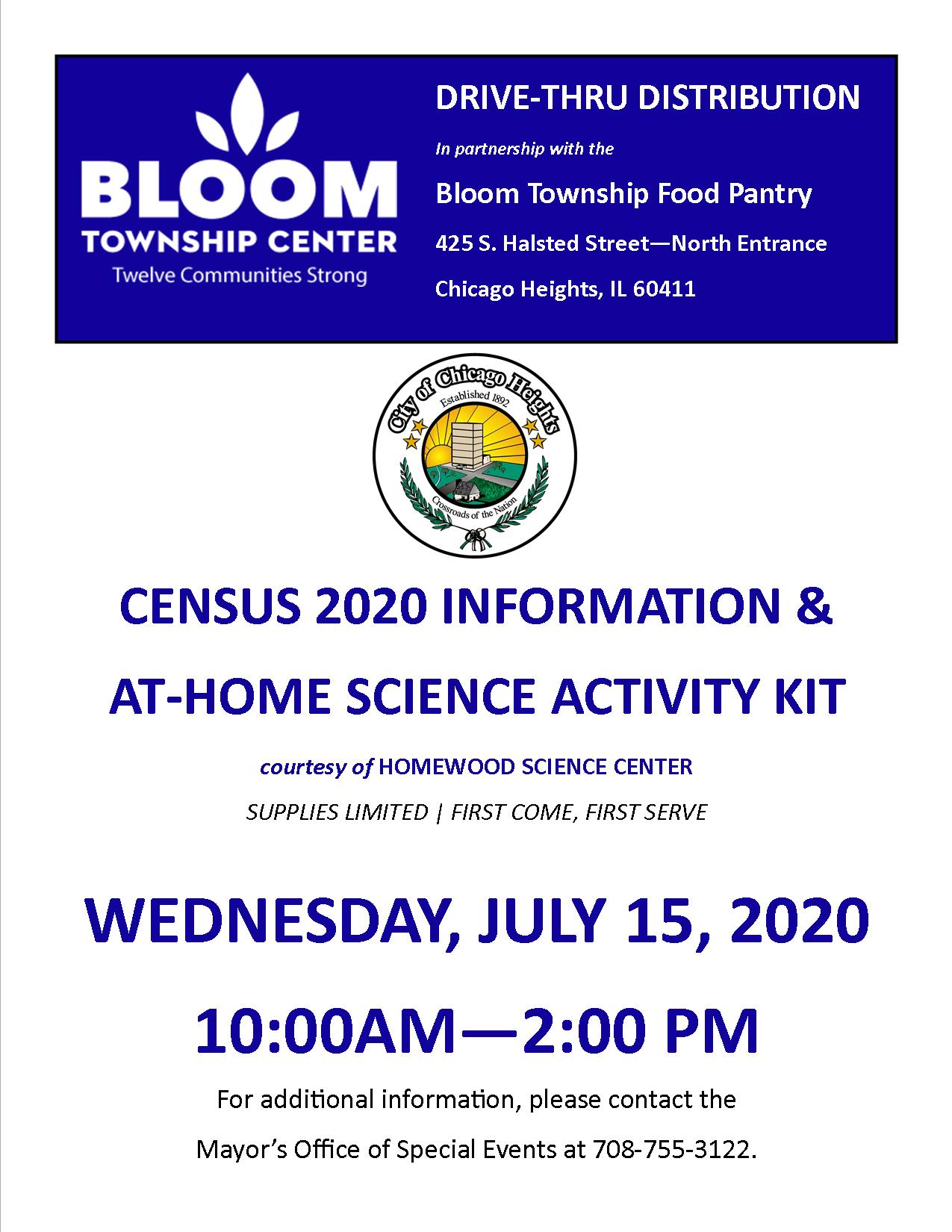 Census and Science Event 7.15.20
