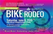Bike Rodeo Saturday June 8, 2019 Commissioners Park