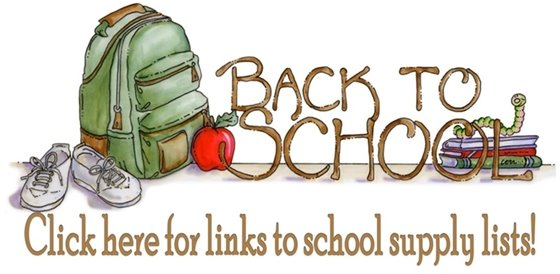 Click here for links to back to school supplies and sites