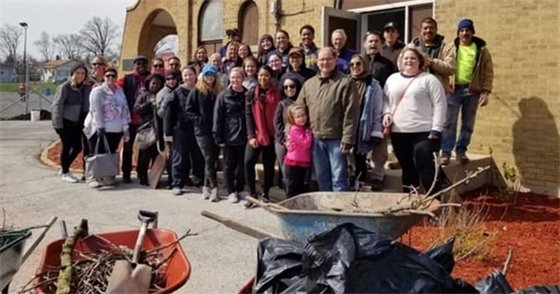 Group Pic Smith Park Cleanup