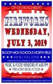 2019 Fireworks Poster