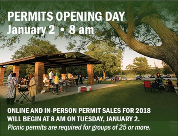 Permits opening day