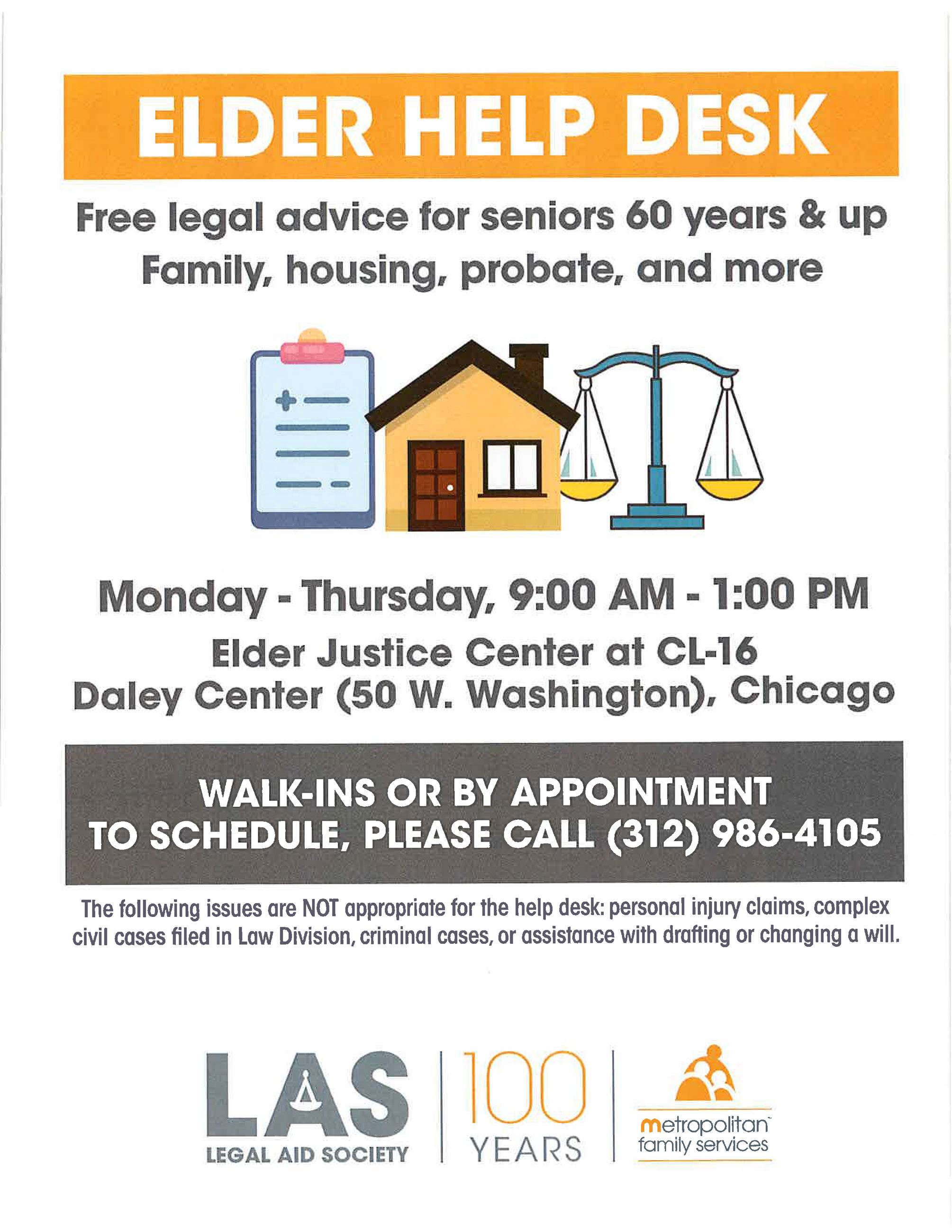 2020 Metropolitan Family Services - Legal Aid Society - Elder Help Desk