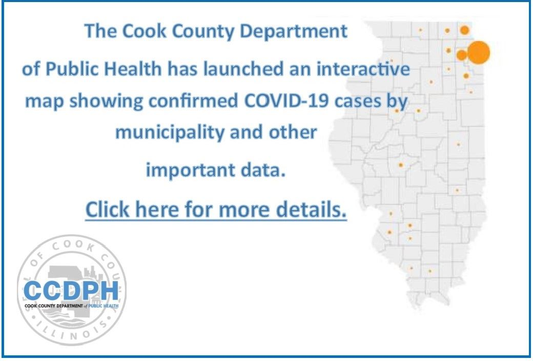 Cook County Interactive COVID-19 Map