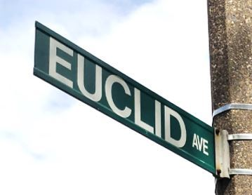 Street Sign - Euclid Avenue