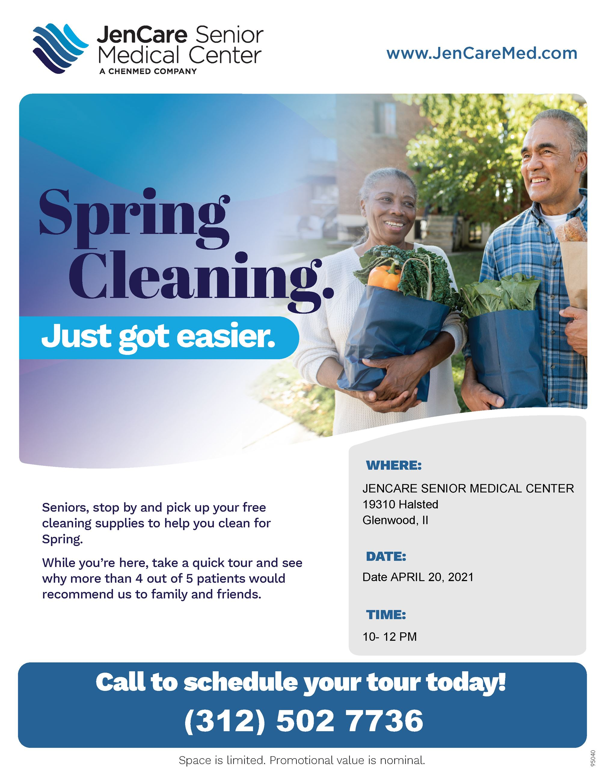 Flyer - Jen Care Spring Cleaning