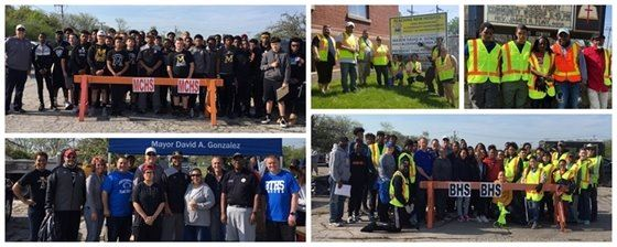 2019 Citywide Clean-Up collage 1