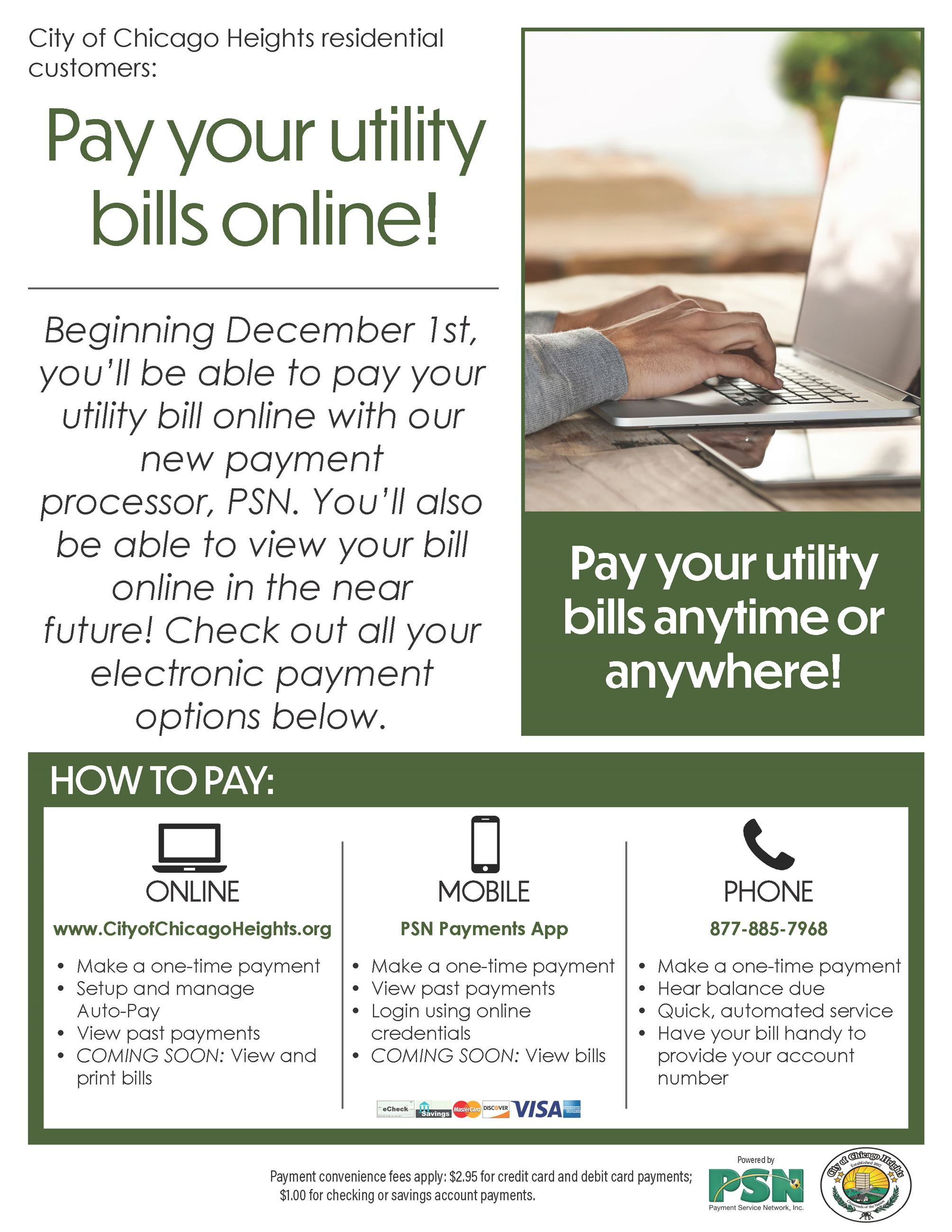 Water Billing Payment Flyer
